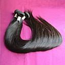 5ks hodně rovné brazilský panenský vlasy spřádá stupeň 8a rovné brazilské lidského vlasu přirozenou barvu humano cabelos