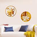 Botanički / Romantika / Ogledala / Moda / Cvjetnih / Oblici / Vintage / 3D Zid Naljepnice 3D zidne naljepnice , Acrylic crystal 30*30cm