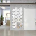 植物の / ロマンティック / ミラー / ファッション / フローラル柄 / 形 / ビンテージ / 3D ウォールステッカー クリスタル・ウォールステッカー , Acrylic crystal 4*4.6*2.3cm