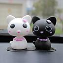 ziqiao車素敵な頭の猫の装飾品は、自動車内装品を置物