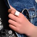 Prstýnky Párty / Denní / Ležérní Šperky Křišťál / Slitina Dámské Široké prsteny 1ks,Jedna velikost Bílá