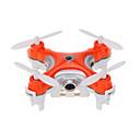Dron Cheerson CX-10c 4 Kanala 6 OS 2.4G S kamerom RC quadcopter Flip Od 360° U Letu / S kamerom Crna / Narančasta