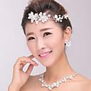 ženski srebrni kristal biser traka za kosu na čelu, kosa nakit za svatove