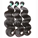 Lidské vlasy Vazby Indické vlasy Vlnité 3 kusy Vazby na vlasy