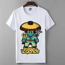 lol liga legende skup serija Cosplay t-shirt junaci sindikata pamuk likra