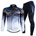 vuori pyöräily joukkue ratsastus paksu lämmin tuulenpitävä fleece pitkähihainen puku m