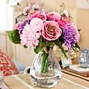Hedvábí Růže / Sedmikrásky Umělé květiny