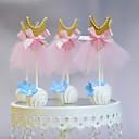 Figure za torte Non-personalizirane Smiješno & Nerado Kartica papira Vjenčanje / Godišnjica / Rođendan Uzde / Luk NarančastaPlaža Teme /