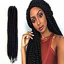 #1 Havana Twist pletenice Ekstenzije za kosu 24inch Kanekalon 2X Nasukati 120g/Pack gram Sušilo za pletenice