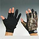 XXLサイズのアンチスリップ手袋を狩猟短い3本の指迷彩釣り