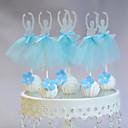 Figure za torte Non-personalizirane Smiješno & Nerado Kartica papira Vjenčanje / Godišnjica / Rođendan Uzde / Luk PlavPlaža Teme /