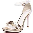 Ženske cipele-Sandale-Formalne prilike / Zabava i večer-Lakirana koža / Umjetna koža-Stiletto potpetica-Štikle / Cipele otvorenih prstiju-