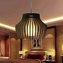 Závěsná světla ,  Retro Ostatní vlastnost for LED Dřevo / bambus Obývací pokoj Ložnice Jídelna studovna či kancelář Chodba