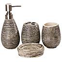 Slama dekorativni uzorak kupaonica četiri komada odijelo
