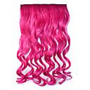 Klip na syntetické prodlužování vlasů vlna s 5 svorkami
