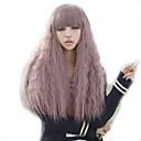 kudrnaté fialové dáma paruky vlasy cosplay umělých vlasů paruky