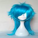 2 boje novog stila cosplay vlasulja sintetičke kose perika duge kovrčave animirani perika strana perika