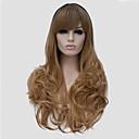 Většina populární dlouho velikost multi-barva černá mix blond vlnité vlasy syntetické paruky