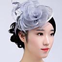 Ženy Peří Tyl Proutěné zboží Přílba-Svatba Zvláštní příležitost Neformální Outdoor Ozdoby do vlasů Jeden díl