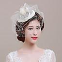 Ženy Tyl Proutěné zboží Síť Přílba-Svatba Zvláštní příležitost Neformální Outdoor Ozdoby do vlasů Jeden díl