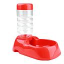 Mačka Pas Zdjele i boce s vodom Ljubimci Zdjele & Hranjenje Prijenosno Srebrna Plav Plastika
