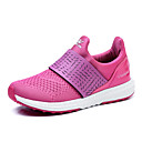 Women's Sneakers Spring / Fall Comfort / Flats Fabric / Tulle Athletic /Black / Pink / Purple / Red Sneaker