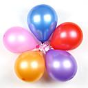 10-palec tlustý kulatá perla balónky latexové balóny (100ks)