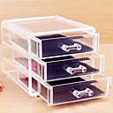 Ukládání make upu Kosmetická taška / Ukládání make upu Plast / Akrylát Jednobarevné 15x12x10.8 Piškot