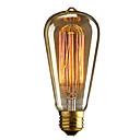 retro vinobraní E27 umělecké žárovka průmyslové žhavící 40w.