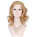 syntetické vlasy, paruky pro ženy na prodej protea blond parukou dlouhými vlnitými kudrnaté žena paruka syntetické paruky účes