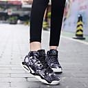 Atletické boty-PU-Pohodlné-Dámské-Burgundská Akt-Atletika-Plochá podrážka