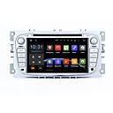 7 2 DIN Android 5.1.1 lizalica auto stereo radio hd 1024 * 600 muti-touch GPS zaslon za Ford Focus 2 s-max Mondeo
