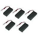 festival na poklopcu 25. odjeljka baterije s prekidačem s crvene i crne žice utora držač baterija baterije