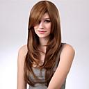 modni slatki Gloden srednje duljine vala perika sintetičke kose