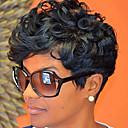perruques synthétiques pour les femmes noires synthétique bouclés perruque courte cheveux synthétiques perruque courte noire de chaleur