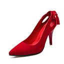 Žene Cipele na petu Proljeće Ljeto Jesen Udobne cipele Flis Vjenčanje Formalne prilike Zabava i večer Stiletto potpeticaMašnica S