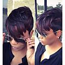 perruques synthétiques courtes pour les femmes noires courtes perruques synthétiques droites femme perruque de cheveux synthétiques