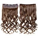 24inch 60cm 120g barva 613 # klip na prodlužování vlasů zprohýbané klip na příčesky
