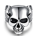 Prsten Tikovina Skull shape Punk stil Pink Jewelry Halloween Dnevno Kauzalni Sport Božićni pokloni 1pc
