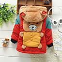 chlapce módní roztomilý medvěd s kapucí husté srsti