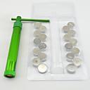 20discs sugarcraft alat šećera paste ekstruder za glinu Fimo obrt pištolja kolač skulptura ukras