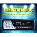 1 din auto audio auto radio stereo muziek OLED-scherm bluetooth mp3-speler aux fm handfree radio met 5v usb telefoon oplader port
