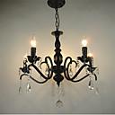 Novinka svítidla evropský styl kované železo obývací pokoj lampa originality individualita dekorace restaurace svíčka lampa lustr