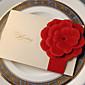 "Side Fold Vjenčanje Pozivnice Pozivnice-50 Piece / Set Classic Style / Flora Style Kartica papira 7 1/5 ""x 5"" (18,4 * 12.8cm)"