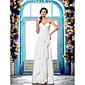 Lanting Bride® Pouzdrové Drobná / Nadměrné velikosti Svatební šaty - Klasické & nadčasové / Okouzlující & dramatické Na zemŠpagetová