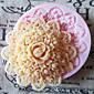 3d okrugli cvijet silikonska kalupa Fondant plijesni šećera obrta alati čokolada kalup za torte