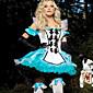 Cosplay Nošnje Fairytale Festival/Praznik Halloween kostime Kolaž Haljina / Glava / Rukavice Halloween / Karneval / New Year Ženka