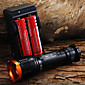 LED svjetiljke / Ručne svjetiljke LED 5 Način 1800 Lumena Podesivi fokus Cree XM-L T6 18650Kampiranje / planinarenje / Speleologija /