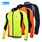 Arsuxeo® Biciklistička jakna Muškarci Dugi rukav BiciklProzračnost / Ugrijati / Quick dry / Anatomski dizajn / Podstava od flisa /