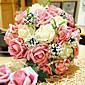 """Svatební kytice Kulatý Růže Kytice Svatba Polyester 30 cm (cca 11,8"""")"""